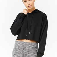Active Hooded Knit Top