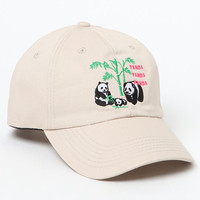 Duvin Design Panda Strapback Dad Hat at PacSun.com