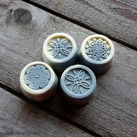 Gift lavender soap with goat milk