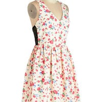 ModCloth Mid-length Sleeveless A-line Instantly Adorable Dress