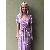 On My Mind Dress- Lavender