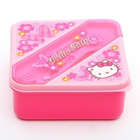 Hello Kitty Lunch Container: Butterfly