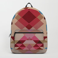 Abstract geometric I Backpack by edrawings38
