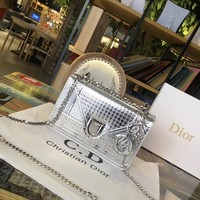 Christian Dior Cd Metallic Bag