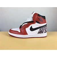 "Air Jordan 1 ""red white"" 36-47"