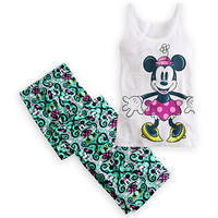 Minnie Mouse Tank Sleepwear Set for Women