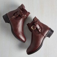 Impressed for Time Bootie
