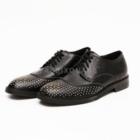 Mens SL Studded Shortwing Oxfords Shoes at Fabrixquare