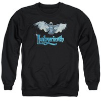 Labyrinth - Title Sequence Adult Crewneck Sweatshirt