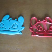 Toothless Inspired Cookie Cutter