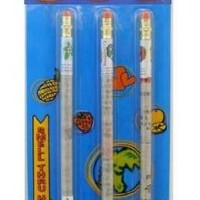 Limited Edition Smencils Gourmet Scented Pencils 3 PK - Cherry, Toasted Marshmallow & Strawberry