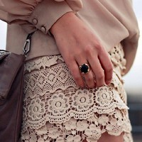 A World of Color: Lovely in Lace