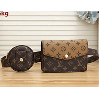 LV Shoulder Bag Louis Vuitton LV Crossbody bag Two Piece Waist Bag With Key Bag