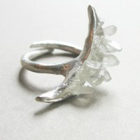 Crescent Moon Ring | NOT JUST A LABEL