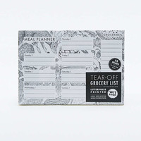 Grocery List Pad - Urban Outfitters