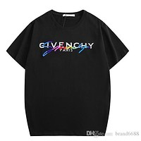 Givenchy palm angels Tshirt High Quality Angel Tears Doodle Short Sleeve Sexy Red XXL T-Shirt Luxury mens Clothing