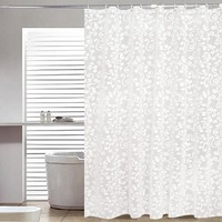 Shower Curtains Plastic Waterproof Mold Proof Bathroom Products