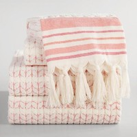 Coral Riley Sculpted Towel Collection