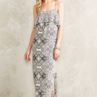 NWT ANTHROPOLOGIE by VANESSA VIRGINIA FLIESE MAXI DRESS 4
