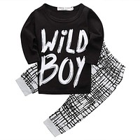 Wild Boy Baby Clothing Set