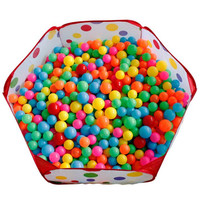Outdoor Fun Sports Toys Tent Pit Ball Lawn Tent Kids Ocean Ball Pool Play Game Pool Cloth Polka Dot Children Toy Tent