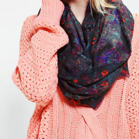 Watercolor Brushed Eternity Scarf - Urban Outfitters