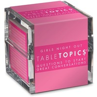 TableTopics 'Girls' Night Out' Conversation Starters