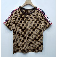 Fendi Women Short Sleeve-4