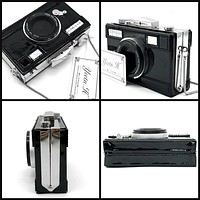 Fashion Camera Shaped Ladies Purse