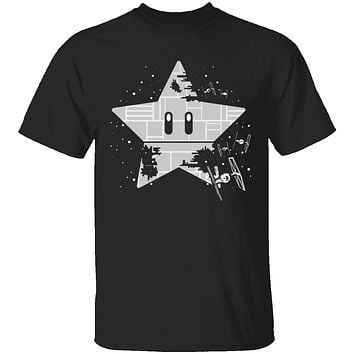 Super Mario Death Star T-Shirt