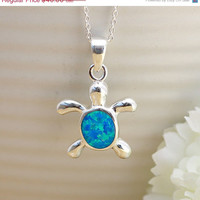 ON SALE Turtle,Opal Necklace,Opal Pendant,Geode Necklace,Gemstone Necklace,Stone Necklace,Birthstone,October,Opal jewelry,Agate Necklace