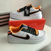 """Nike Air Force 1 x Givenchy"" Unisex Sport Casual Low Help Plate Shoes Couple Fashion Sneakers"