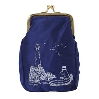 Small embroidered Moomin clutch bag by Ivana Helsinki