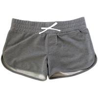 ReEvolve Women's Train Shorts Athletic Grey