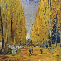 The Elysian Fields by Vincent Van Gogh
