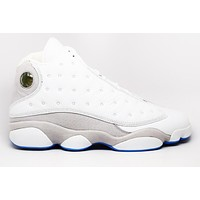 Tagre Air Jordan 13 Retro University Blue Basketball Shoes <>