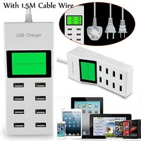 Travel  Charger  Charger  Display  iPhone  Samsung