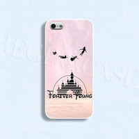 Disney phone case Forever young case Forever young phone case  for iphone 4/4s 5/5s Galaxy s3 s4 s5