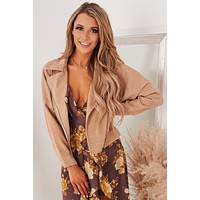 Insider Edition Zippered Jacket (Taupe)