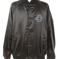 Black Chevrolet Embroidery Coach Jacket - Vintage clothing from Rokit -