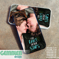 the fault in our stars - iPhone 4/4s/5/5c/5s Case - Samsung Galaxy S2/S3/S4 - Blackberry z10 - iPod 4/5 Case - Black or White
