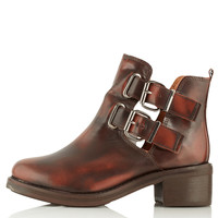 ADONIS2 Cut Out Boots - Topshop