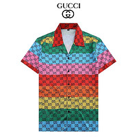 GG Double G Printed POLO Shirt Short Sleeve T-shirt for Men and Women