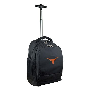 Texas Longhorns Wheeled Premium Backpack