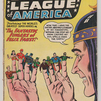 Justice League of America; V1, 10.  VG.  March 1962.  DC Comics