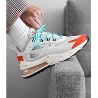 NIKE AIR MAX 270 REACT Fashion Women Men Casual Running Sport Shoes Sneakers