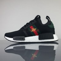Adidas Originals NMD R1 X GUCCI BEE W 200 Women And Men Sneaker