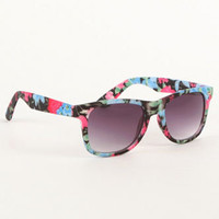 With Love From CA Dark Floral Sunglasses at PacSun.com