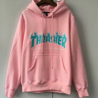 Fashion new hooded  sports sweater top
