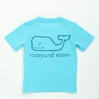 Boys Neon Whale Graphic Pocket T-Shirt